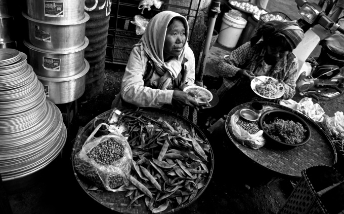 Pasar lokal, Bagan, Myanmar (2014)